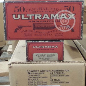 Picture of 45 COLT ULTRAMAX 250 GRAIN LRN (50 ROUNDS)