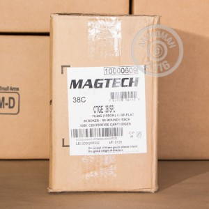 Picture of 38 SPECIAL MAGTECH 158 GRAIN SJSP (50 ROUNDS)