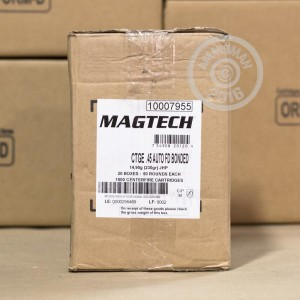 Picture of 45 ACP MAGTECH FIRST DEFENSE 230 GRAIN JHP BONDED (1000 ROUNDS)