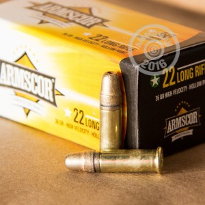 Picture of .22 LR ARMSCOR 36 GRAIN HP (500 ROUNDS)