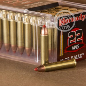 Picture of 22 WMR HORNADY 30 GRAIN V-MAX POLYMER TIP (500 ROUNDS)
