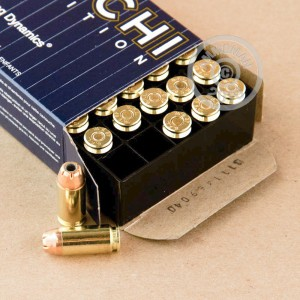 Picture of 40 S&W FIOCCHI 165 GRAIN JACKETED HOLLOW POINT (50 ROUNDS)