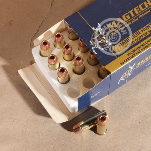 Picture of 44 REMINGTON MAGNUM MAGTECH 200 GRAIN SOLID COPPER HOLLOW POINT (20 ROUNDS)