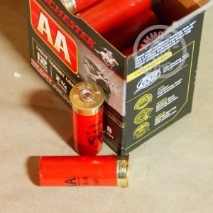"Picture of 12 GAUGE WINCHESTER AA LIGHT TARGET 2-3/4"" 1-1/8 OZ. #8 SHOT (25 ROUNDS)"