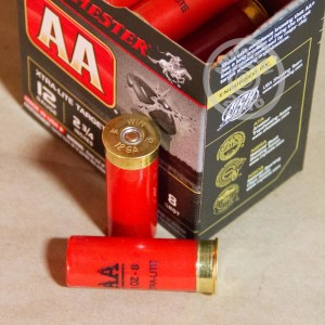 """Picture of 12 GAUGE WINCHESTER AA XTRA-LITE  2 3/4"""" 1 OZ. #8 SHOT (25 ROUNDS)"""