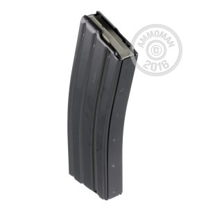 Picture of AR-15/M16 MAGAIZINE - 30 ROUND D&H INDUSTRIES BLACK TEFLON W/ MAGPUL FOLLOWER (1 MAGAZINE)