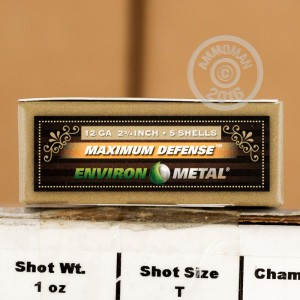"Picture of 12 GAUGE HEVI-SHOT MAXIMUM DEFENSE 2-3/4"" 1 OZ. T SHOT (5 ROUNDS)"