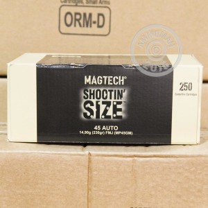 Picture of 45 ACP MAGTECH 230 GRAIN FMJ #MP45GM (250 ROUNDS)