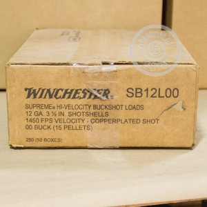 "Picture of 12 GAUGE WINCHESTER DOUBLE X 3 1/2"" 00 BUCK (5 ROUNDS)"