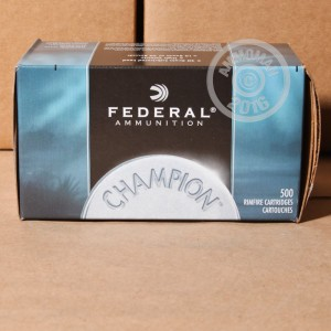 Picture of .22 LR FEDERAL 40 GRAIN LEAD ROUND NOSE (5,000 ROUNDS)