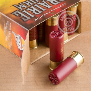 """Picture of 12 GAUGE FEDERAL PREMIUM PRAIRIE STORM 2-3/4"""" 1-1/4 OZ. #6 SHOT (25 ROUNDS)"""