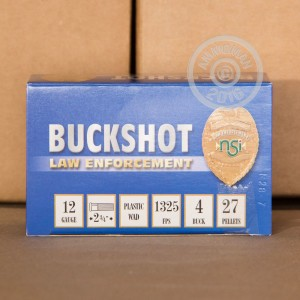 "Picture of 12 GAUGE NOBELSPORT LE 2-3/4"" #4 BUCK 27 PELLETS (10 ROUNDS)"