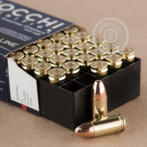 Picture of 9MM LUGER FIOCCHI SHOOTING DYNAMICS 124 GRAIN CMJ (50 ROUNDS)