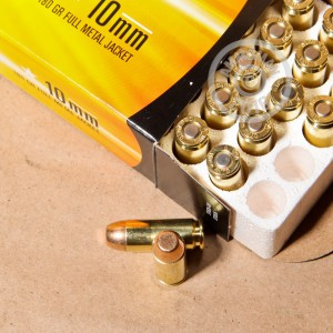 Picture of 10MM ARMSCOR 180 GRAIN FULL METAL JACKET (50 ROUNDS)