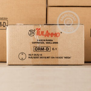 Picture of 7.62x39MM TULA CARTRIDGE WORKS 124 GRAIN HP (100 ROUNDS)