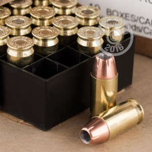 Picture of 45 ACP +P HORNADY CUSTOM 200 GRAIN XTP JHP (200 ROUNDS)