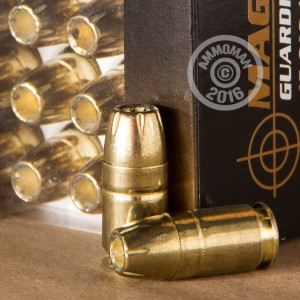 Picture of .45 GAP MAGTECH GUARDIAN GOLD 185 GRAIN JHP (20 ROUNDS)