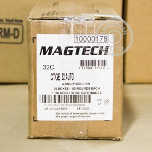 Picture of 32 ACP MAGTECH 71 GRAIN LRN (50 ROUNDS)