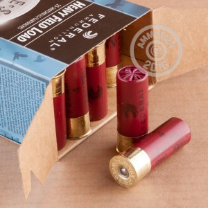 """Picture of 12 GAUGE FEDERAL HEAVY FIELD LOAD 2 3/4"""" 1 1/8 OZ. #4 SHOT (25 ROUNDS)"""