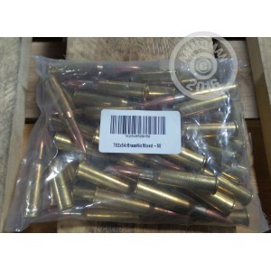 Picture of 7.62X54R MIXED BRASS (50 ROUNDS)