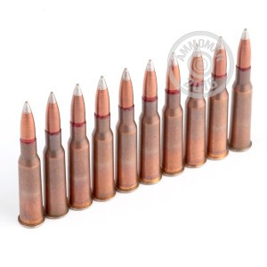 Picture of 7.62X54R RUSTY RUSSIAN SURPLUS 148 GRAIN FMJ SILVER TIP SPAM CAN (440 ROUNDS)