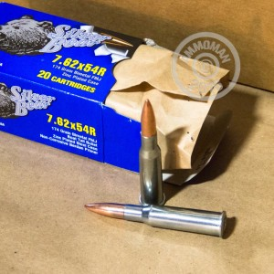 Picture of 7.62x54R SILVER BEAR 174 GRAIN FULL METAL JACKET (500 ROUNDS)