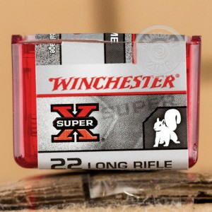 Picture of 22 LR WINCHESTER SUPER-X 40 GRAIN PP (100 ROUNDS)