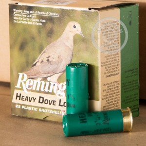 Picture of 12 GAUGE REMINGTON HEAVY DOVE #7.5 LEAD SHOT (250 ROUNDS)
