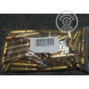 Picture of 7.62x39MM MIXED BRASS AND NICKEL PLATED (50 ROUNDS)