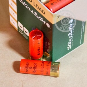 "Picture of 12 GAUGE SELLIER & BELLOT FIELD 2-3/4"" #7.5 SHOT (25 SHELLS)"