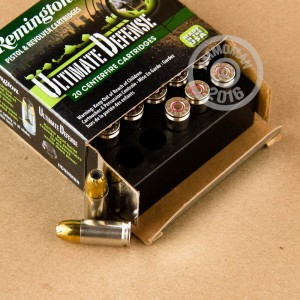 Picture of 9MM LUGER REMINGTON ULTIMATE DEFENSE 124 GRAIN JHP (20 ROUNDS)