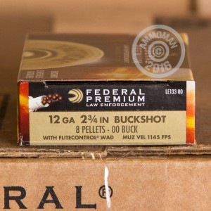 "Picture of 12 GAUGE FEDERAL TACTICAL 2-3/4"" 00 BUCK (5 ROUNDS)"