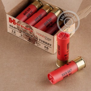 """Picture of 12 GAUGE HORNADY HEAVY MAGNUM TURKEY 3"""" #6 PLATED LEAD SHOT (10 ROUNDS)"""