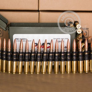 Picture of .50 BMG PMC BRONZE 660 GRAIN FMJ-BT (100 ROUNDS)