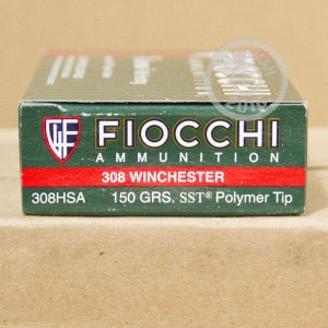 Picture of 308 WIN FIOCCHI EXTREMA 150 GRAIN SST (20 ROUNDS)