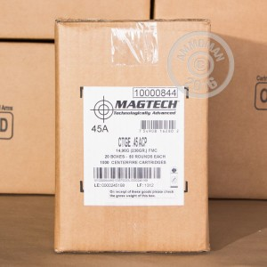 Picture of .45 ACP MAGTECH 230 GRAIN FMJ (50 ROUNDS)