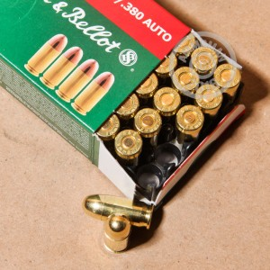 Picture of 380 ACP SELLIER & BELLOT 92 GRAIN FMJ (50 ROUNDS)