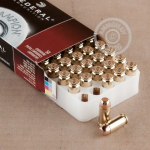 Picture of 40 S&W FEDERAL CHAMPION 180 GRAIN FMJ (50 ROUNDS)