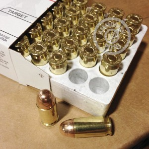 Picture of 45 ACP WINCHESTER USA 230 GRAIN FMJ (50 ROUNDS)
