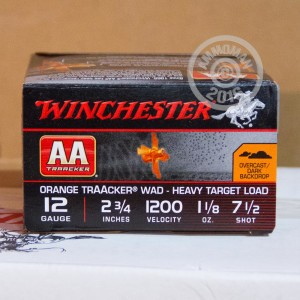 "Picture of 12 GAUGE WINCHESTER AA TRAACKER 2-3/4"" 1-1/8 OZ. #7.5 SHOT (25 ROUNDS)"