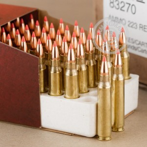 Picture of 223 REMINGTON HORNADY 55 GRAIN VMAX (50 ROUNDS)