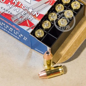 Picture of .380 ACP HORNADY AMERICAN GUNNER 90 GRAIN JHP (25 ROUNDS)