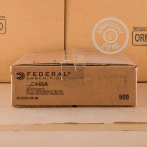 Picture of 44 SPECIAL FEDERAL 200 GRAIN SEMI-WADCUTTER (500 ROUNDS)
