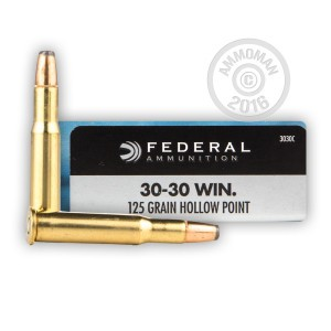 Picture of 30-30 WINCHESTER FEDERAL POWER-SHOK 125 GRAIN HP (20 ROUNDS)
