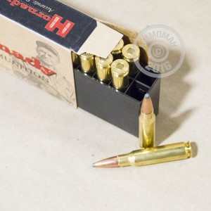 Picture of .308 WINCHESTER HORNADY CUSTOM INTERLOCK 150 GRAIN BTSP (20 ROUNDS)