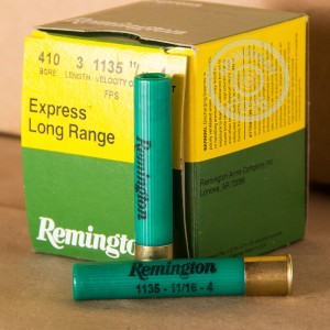 Picture of 410 BORE 3 INCH #4 SHOT REMINGTON EXPRESS LONG RANGE (25 ROUNDS)