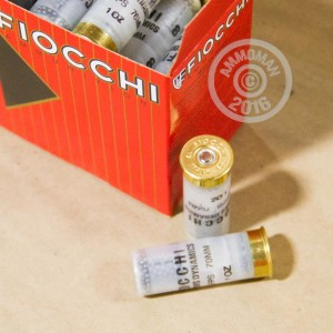"Picture of 12 GAUGE FIOCCHI TARGET 2-3/4"" 1 OZ. #8 SHOT (25 ROUNDS)"