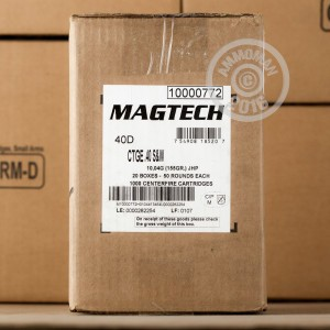 Picture of 40 S&W MAGTECH 155 GRAIN JHP (50 ROUNDS)