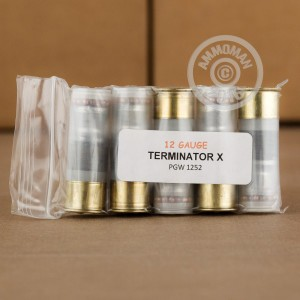"""Picture of 12 GAUGE PRECISION GUN WORKS TERMINATOR X 2-3/4"""" SPECIALTY (5 ROUNDS)"""