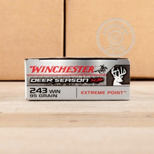 Picture of 243 WIN WINCHESTER DEER SEASON XP 95 GRAIN PT (20 ROUNDS)